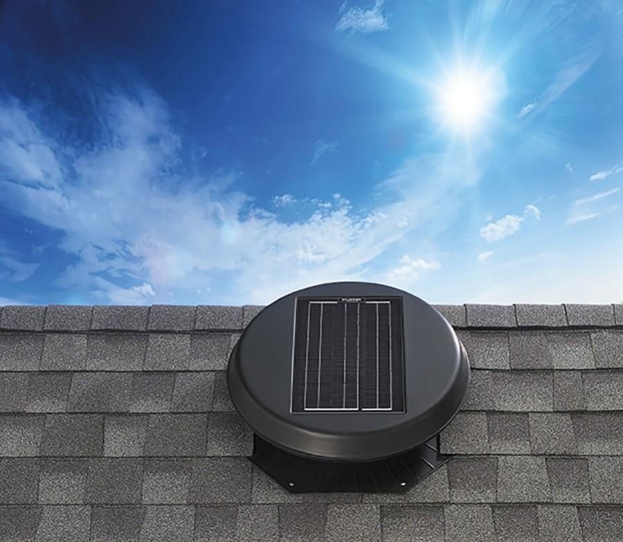Roof Mount 1500 Solar Attic Fan
